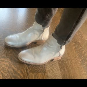 n.d.c. Made by Hand silver boots!